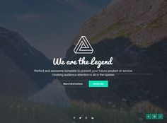 LEGEND is Premium Responsive Retina #HTML5 #ComingSoon Template. Bootstrap 3. #VideoBackground. MailChimp. Ajax Contact Form. Test free demo at: http://www.responsivemiracle.com/legend-premium-responsive-coming-soon-html5-template/