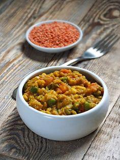 smakołyki alergika: obiad: dania wegetariańskie