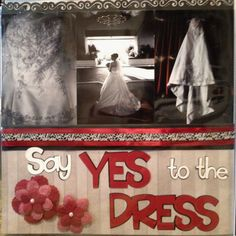 Say yes to the dress ! Perfect page for the prom dress next year...can't wait.