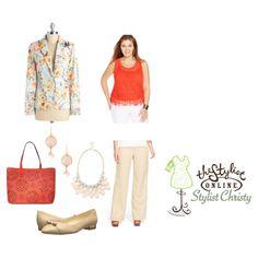 Dressing Plus: Look Three--Work Wednesday
