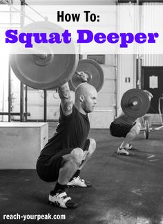 How To Squat Deeper - I so need to learn how to do this. Such. Crossfit Home  GymWeight ... cced68be44f4c