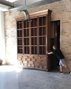 """Jacob Reinbold on Instagram: """"We dream up some great things. Still has some minor finishing touches until it's complete over at the @metropolitanamarillo.…"""" Secret Rooms, Still Have, Home Remodeling, Garage Doors, Construction, Instagram, Building, Outdoor Decor, House"""
