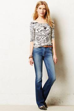 Koral Slim Bootcut Jeans - anthropologie.com