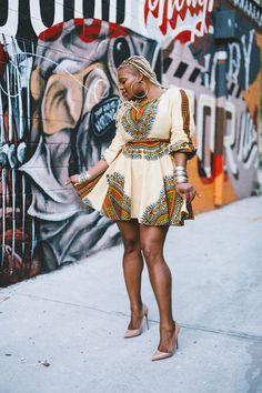 Atlanta style diary a shop zuvaa zhara keyhole dashiki dress and