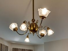 Beautiful Light Fixture In This 1885 Queen Anne Chicago Illinois