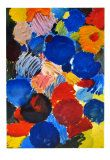 Ecstatic Blue, 1961 Collectable Print by Ernst Wilhelm Nay