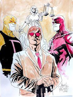 Daredevil by Yanick Paquette