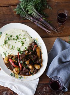 beef bourguignon - Sunday Suppers