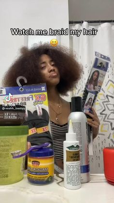 Natural Hair Short Cuts, Natural Hair Styles For Black Women, Black Girl Braided Hairstyles, Braided Hairstyles Tutorials, Baddie Hairstyles, Girl Hairstyles, Protective Hairstyles, Protective Styles, Curly Hair Tips