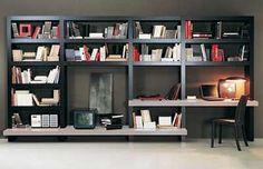 escritorio librero mueble para la television1