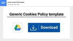 If you don't have a Cookies Policy, you may be violating some important privacy laws around the world. To be safe, you should have a Cookies Policy if your website uses cookies. Here's a template to get you started. Make Money Online, How To Make Money, How To Get, Cookies Policy, Privacy Policy, Create Yourself, Ads, Templates, Benefit