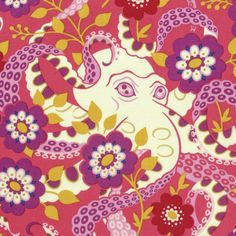 Heather Bailey - hello LOVE - Octopus's Garden - Coral
