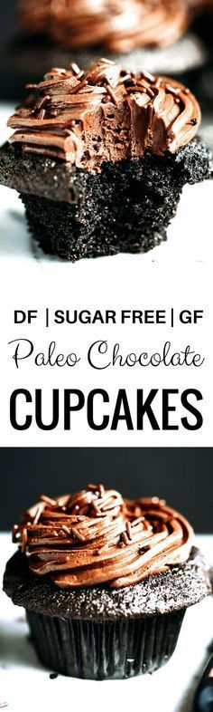 Paleo chocolate cupcakes ~ MUST TRY THIS RECIPE!