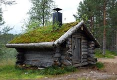 Lappish hut (Kummitukämpän aitta) standing in the outskirts of Saariselkä, Finland by ~yonne, Cabins and activities in Saariselkä http://www.saariselka.com: