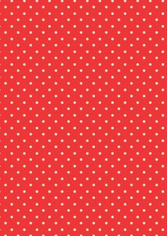 Mini Dot Tomato Red | Cath Kidston classic polkadot print design