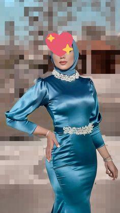 Girl Hijab, Hijab Outfit, Sophia Loren, Muslim Women, Beautiful Asian Women, Muslim Fashion, Asian Woman, We Heart It, Peplum Dress