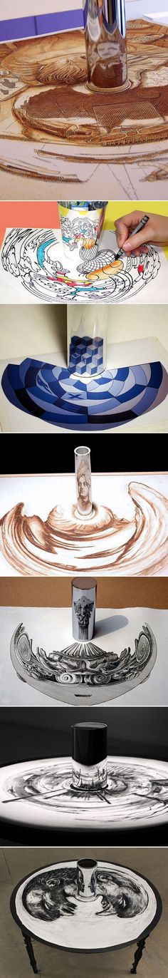 Plateia.co #ValoramoslaExcelencia #PlateiaColombia #arte #art #artista #artista #Dibujo #Drawing Anamorphic Artworks