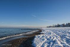 Winterwunderland im Ostseeheilbad Niendorf // Foto: MeerART