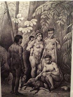 Indios botocudos - Rugendas e o Brasil p65