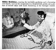 Billie Holiday Husband | Billie Holiday drops in for Ella Fitzgerald's performance in 1947 at ...