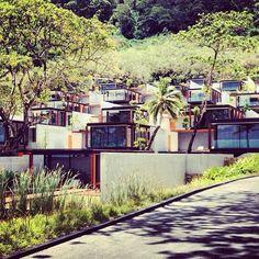Sea view villas at The Naka Phuket