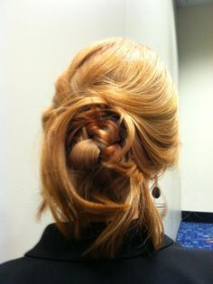 Kenra's Guest Artist, created this stunning updo hairstyle during our class at America's Beauty Show 2012! | Kenra Professional