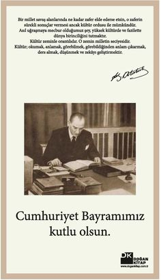 29 Ekim Cumhuriyet Bayramı İlanı Turkish War Of Independence, Cult Of Personality, National Movement, Military Officer, Adoptive Parents, Great Leaders, Favorite Quotes, Art Projects, Classroom