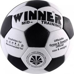 Minge fotbal Winner Mid Training Soccer Ball, Training, Sports, Coaching, Hs Sports, Soccer, Sport, European Football, Workouts