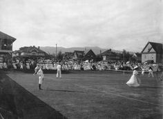 Vancouver Lawn Tennis Club, Finals international, Aug. 1907