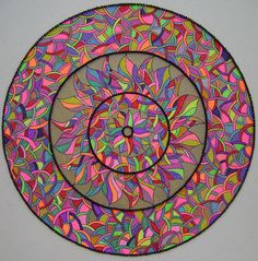 Mandala by J1ART, via Flickr