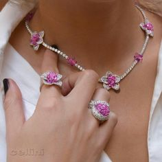 Mother's Day is 48 hours away ☀️ Check Out CelliniJewelers.com for #GreatGift options ☀️ #PinkSapphires