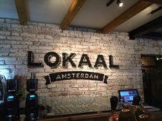 Lokaal in Amsterdam #bistro #heritage #local
