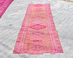 Welcome to Turkish Rug Star by turkishrugstar on Etsy Hallway Rug, Pink Rug, Rug Runner, Runes, Photo S, Aztec, Bohemian Rug, Area Rugs, Etsy Seller