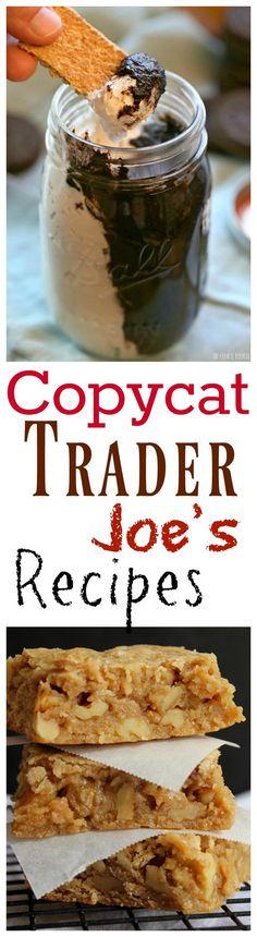 16 Trader Joe's Copycat Recipes to Make at Home 16 Delicious Copycat Trader Joe's Recipes You Can Make at home! New Recipes, Cooking Recipes, Favorite Recipes, Recipies, Fast Recipes, Joe Recipe, Copykat Recipes, Good Food, Yummy Food