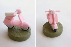 Vespa Step-by-Step Tutorial for Polymer Clay, Fondant or Sugarpaste