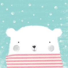 Gemma Luxton - Polar bear illustration Демотиватор+79115829005ы Демотиваторы #демотиваторы #постеры