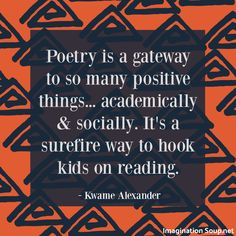 interview with Kwame Alexander where he discusses his new book Swing poetry & reading Ya Books, Books To Read, Poetry Books For Kids, Poetry Activities, Poetry Lessons, Funny Slogans, Reading Rainbow, Lessons For Kids, Book Lists