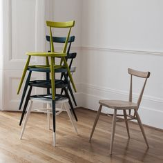 Updated British Classics from Ercol, Plus New Designs by Matthew Hilton (Remodelista: Sourcebook for the Considered Home) Ercol Dining Chairs, Ercol Chair, Ercol Furniture, Cheap Furniture, Bistro Chairs, Arm Chairs, Kitchen Chairs, Swivel Chair, Kitchen Dining