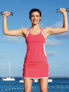 Strength Training Workout Routinte at WomansDay.com - Ways to Workout At Home - Woman's Day
