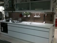 ... about Kitchens on Pinterest  Ikea, White kitchens and Ikea kitchen