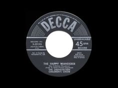1954 original: The Happy Wanderer (Val-de Ri, Val-de Ra!) - Obernkirchen Children's Choir - YouTube