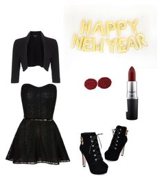 Hello 2016 by hypnoears-official on Polyvore featuring polyvore, fashion, style, Phase Eight, JY Shoes, MAC Cosmetics and Hypnoears