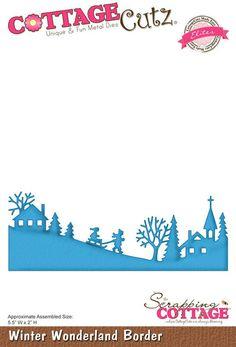 CottageCutz Elites Dies - Winter Wonderland Border (SC-CCE-048)