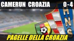 CAMERUN - CROAZIA 0-4 - MONDIALI BRASILE 2014 - 19-6-2014 - LE PAGELLE DELLA CROAZIA