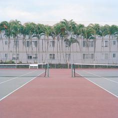 Ward Roberts captures the colours of basketball courts and childhood nostalgia