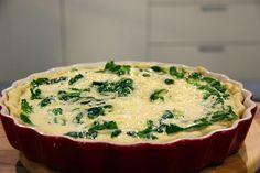 Slaný koláč se špenátovou náplní — Vše o vaření — Česká televize