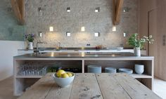 Gorgeous kitchen in France seen on Hello Lovely Studio