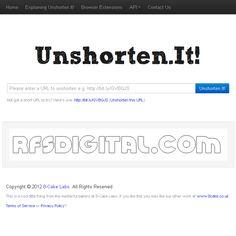 Unshorten.it: averigua lo que oculta una URL corta