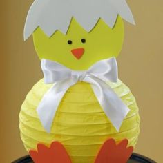 DIY Easter Chick Lantern {Ideas DIY}