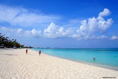 Seven Mile Beach in Georgetown, Grand Cayman.